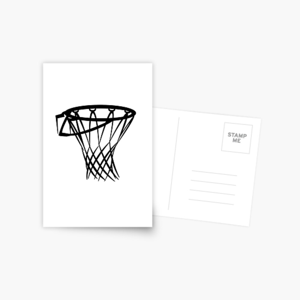 Basketball basketball hoop Postcard
