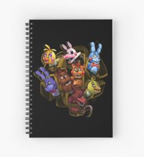 Five Nights at Freddy's 2 Spiral Notebook