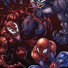 Spider, spider, spider by Drake Tsui
