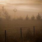 Country Windmill Five, Australia by Phill Danze