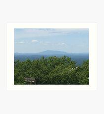 Mount Monadnock from Wachusett Art Print