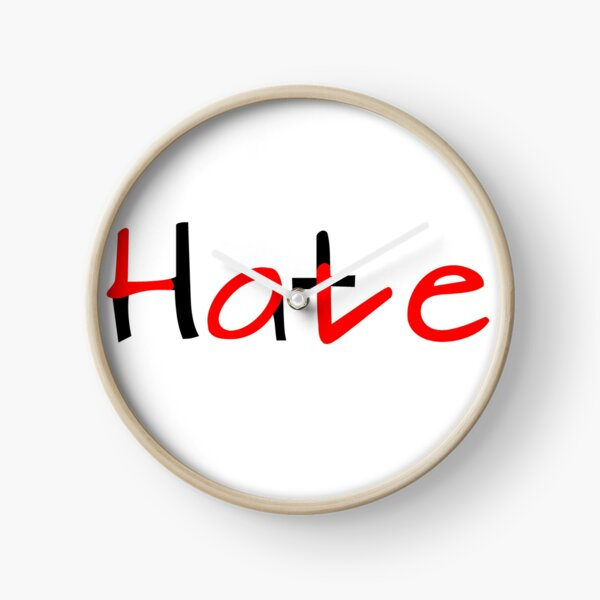 Love Hate Uhr