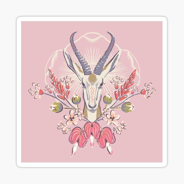 Gazelle Sticker