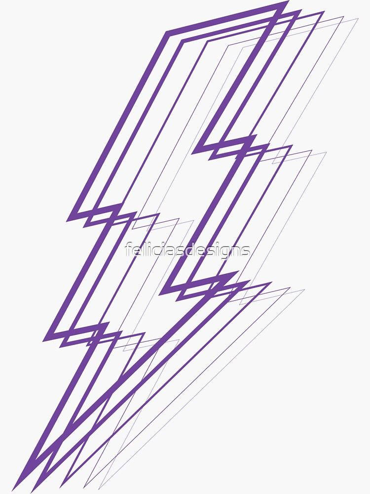 Purple Lightning by feliciasdesigns
