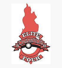 Elite Four Champion Flame Photographic Print