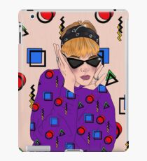Eighties  iPad Case/Skin