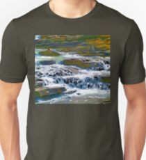 Terraced Falls (Rocky Mountains) Unisex T-Shirt