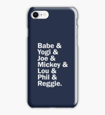 New York Yankee Legends - LIMITED iPhone Case/Skin