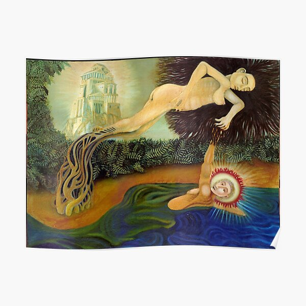 Daphne and Apollo Poster