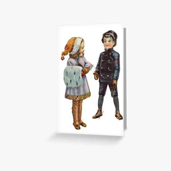 Новогодняя открытка акварелью #Новогодняя #открытка #акварелью Greeting Card