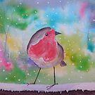 Robin Redbreast by FrancesArt