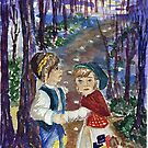Hansel and Gretel by kinokko