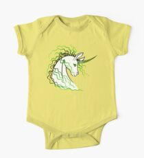 Ki-Rin (Japanese Unicorn) - Green Kids Clothes