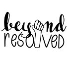 beyond resolved (outline) by Zara Chapple