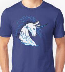 Ki-Rin (Japanese Unicorn) - Blue T-Shirt