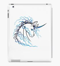 Ki-Rin (Japanese Unicorn) - Blue iPad Case/Skin