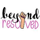 beyond resolved (pink) by Zara Chapple