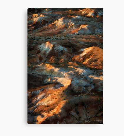 Colours of the Outback Canvas Print