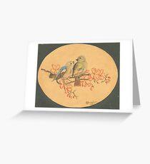 Love Birds - 1945... Greeting Card