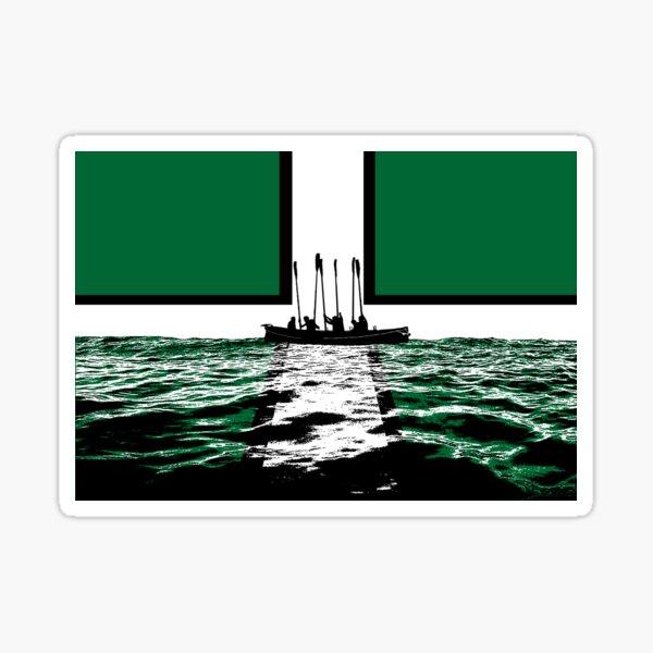 Oars up Devon! Sticker