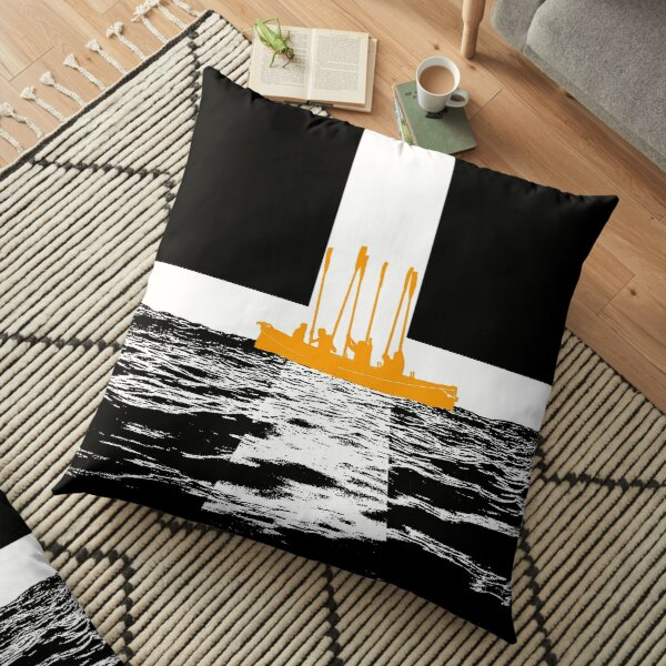 Oars up Kernow! Floor Pillow