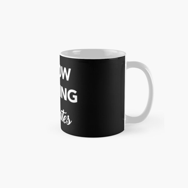 I Know Nothing - Socrates Quote Classic Mug