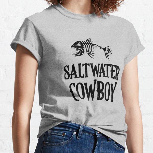 Saltwater Cowboy - Fishing Classic T-Shirt
