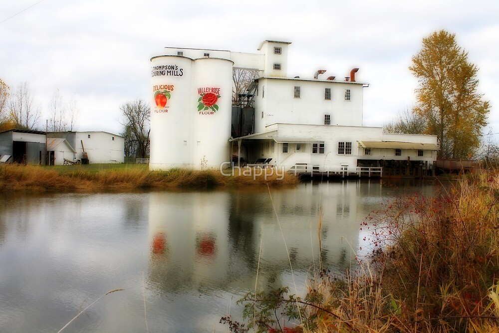 Thompsons Flour Mill by Chappy