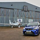 Plane with Blue RS by Vicki Spindler (VHS Photography)