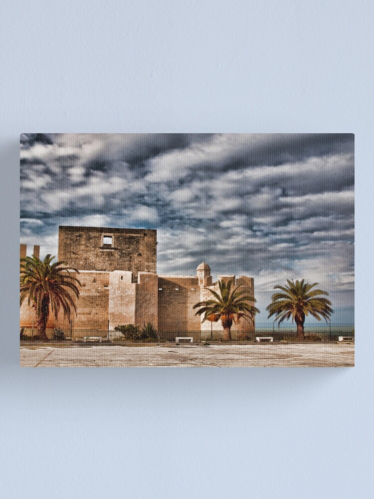 Alternate view of Il castello di Brucoli Canvas Print