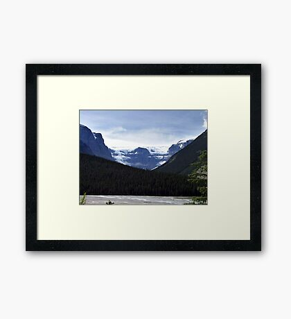 Mt. Kitchener and Friends Framed Print