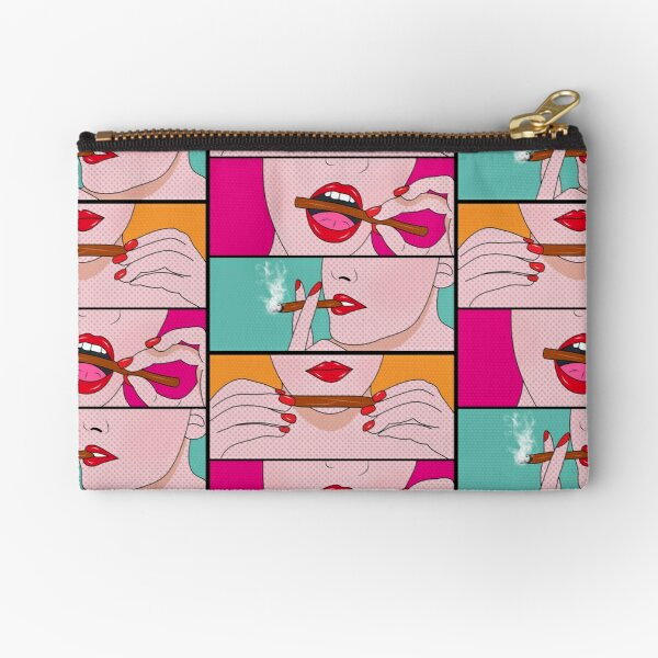 weed lady  Zipper Pouch