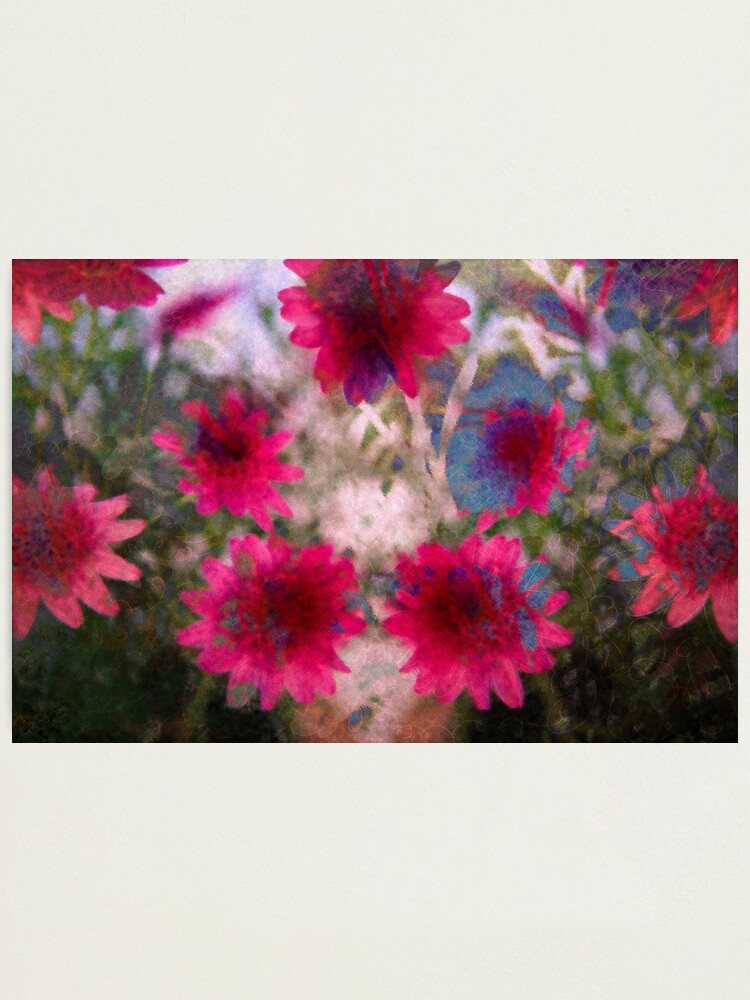 Alternate view of Abstract flowers Photographic Print