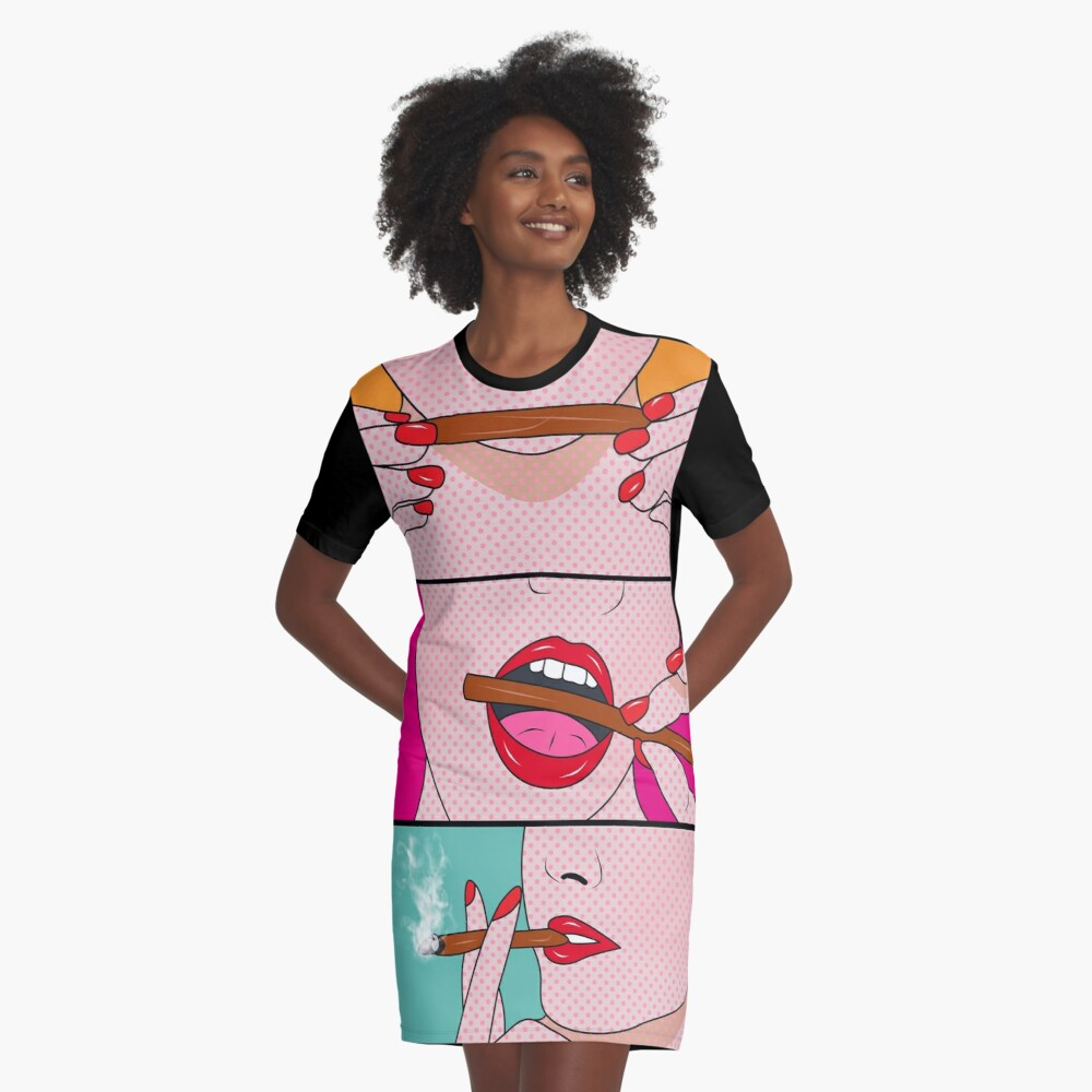 weed lady  Graphic T-Shirt Dress