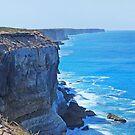 Bunda Cliffs, The Great Australian Bight, South Australia by Adrian Paul