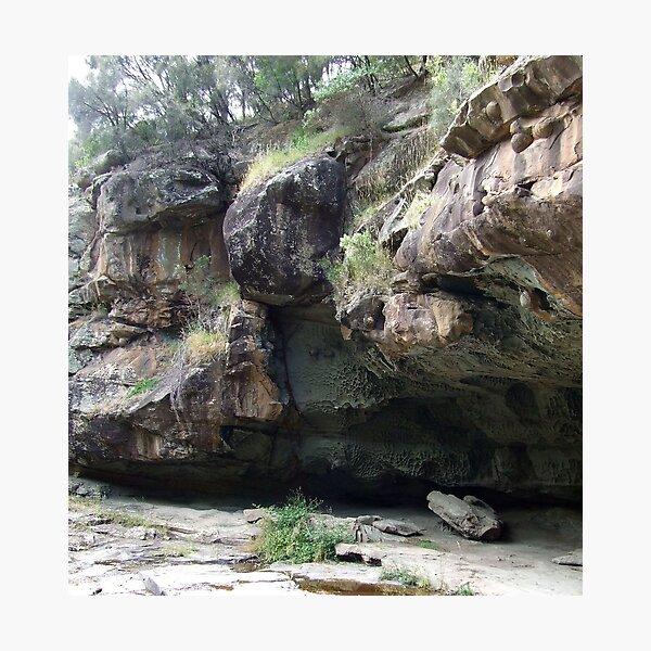 Swallows Cave, Sheoak  Falls, Victoria Photographic Print