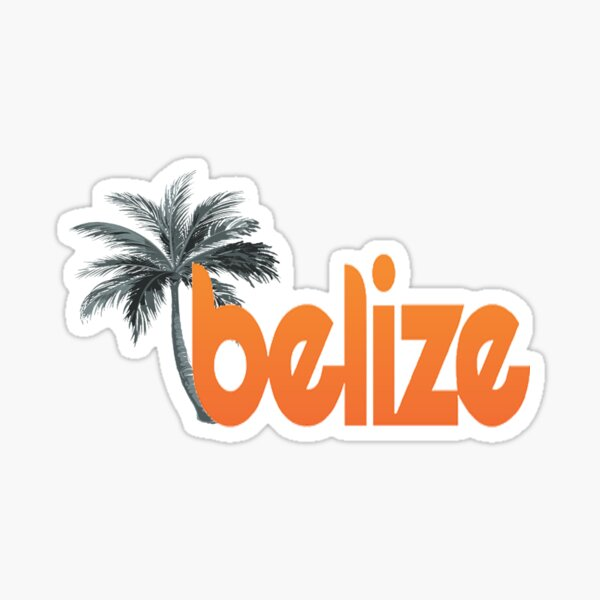 Belize My Mind Sticker