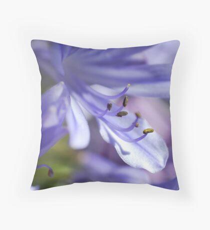 I Bean Blue Throw Pillow
