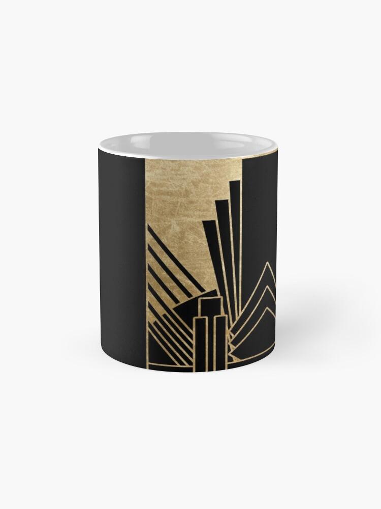 Alternative Ansicht von Art-Deco-Design Tasse