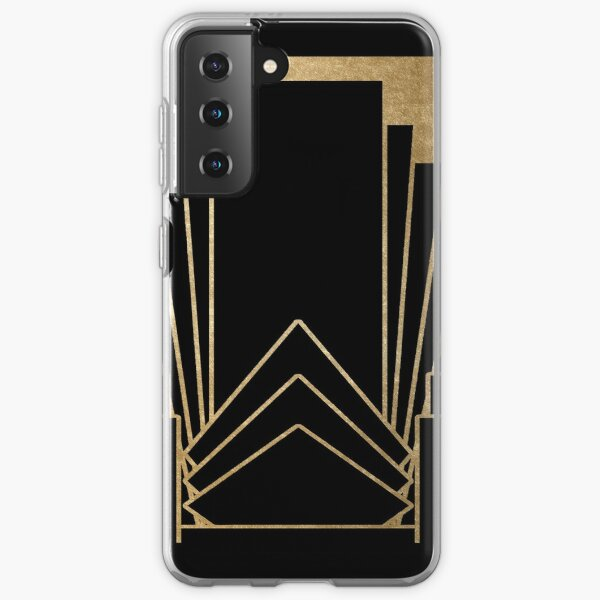 Art deco design Samsung Galaxy Soft Case