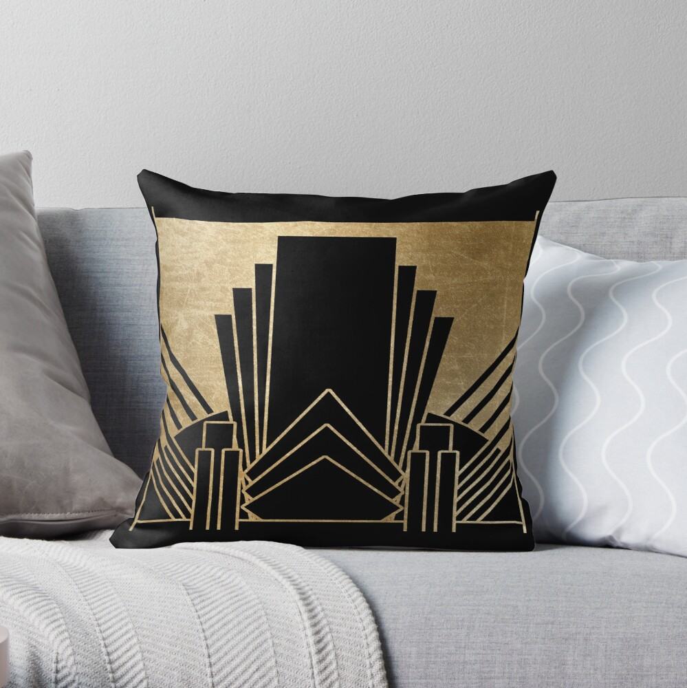 Art-Deco-Design Dekokissen