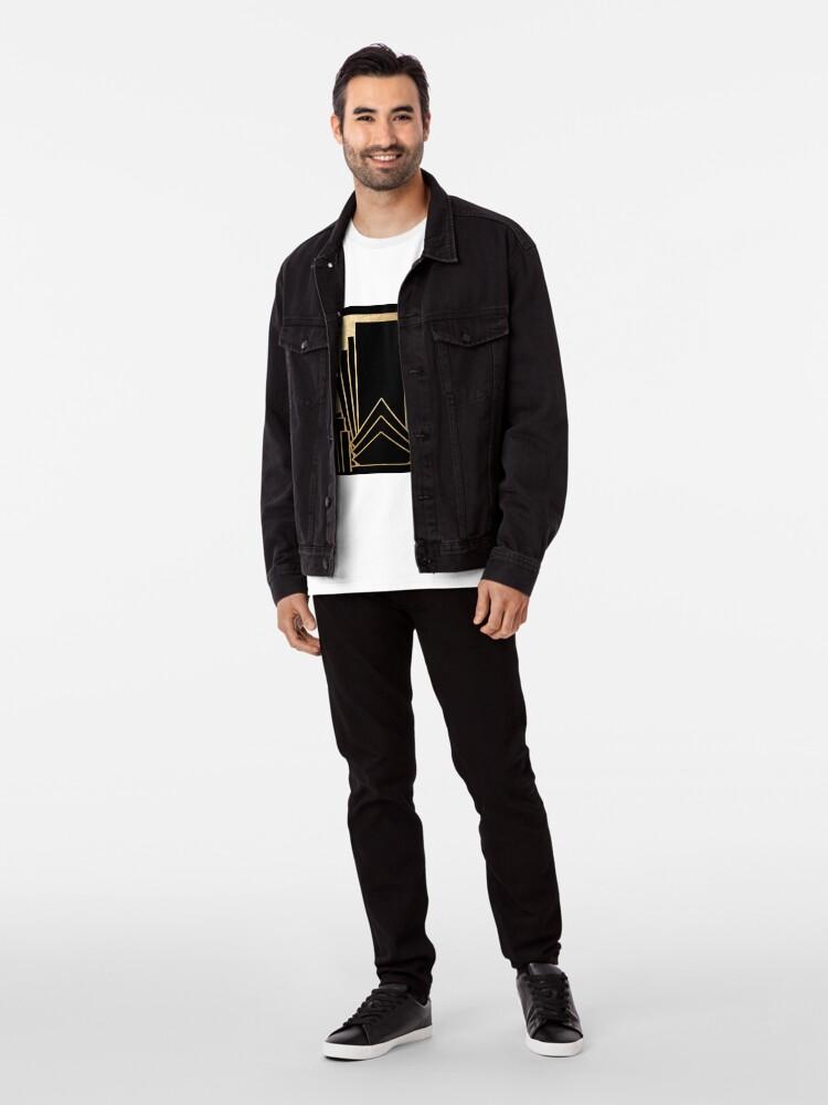 Alternative Ansicht von Art-Deco-Design Premium T-Shirt