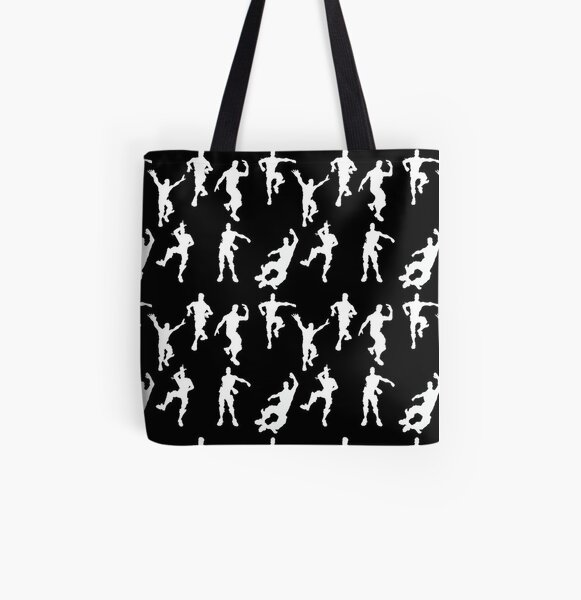 happy dance All Over Print Tote Bag