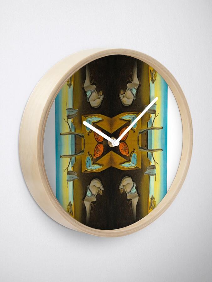 Alternate view of #famousplace #internationallandmark #MuseumofModernArt #DiamondDistrict #NewYorkCity #USA #yellow #painting #pictureframe #modernart #water #sky #sea #nature #illustration #animal #summer #beach Clock
