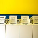 Ensure washers and dryers are clean before use. by Andrew Brown
