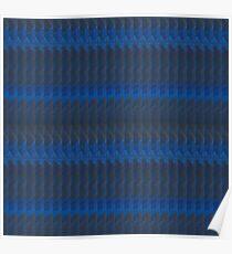 cobalt knit Poster