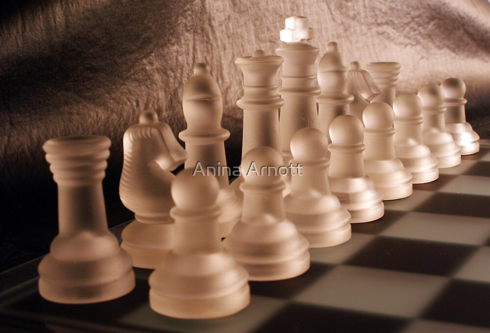 Chess with Temperature Contrast by Anina Arnott