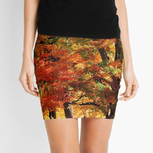 Colors Of Fall Mini Skirt