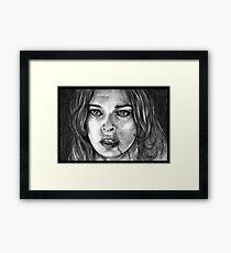 Milla Jovovich Framed Print