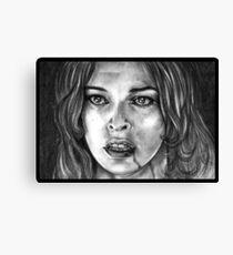 Milla Jovovich Canvas Print